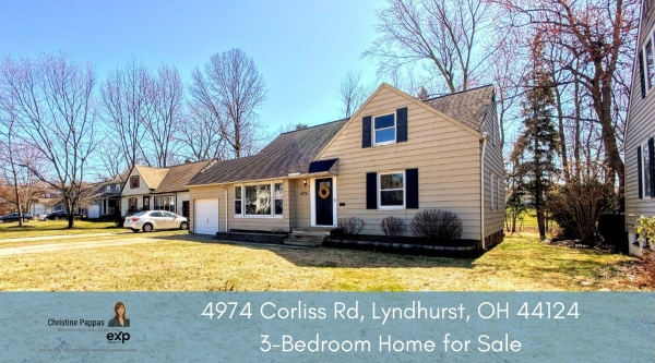 Lyndhurst OH home for sale- Space will never be an issue in this Lyndhurst OH home for sale.