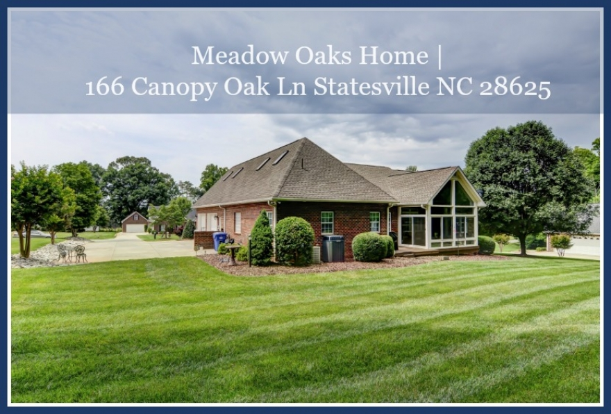 Coming Soon! 166 Canopy Oak Ln Statesville NC 28625 | Meadow Oaks Home for Sale