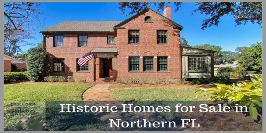 Historic​ ​Homes​ ​for​ ​Sale​ ​in​ ​Northern​ ​FL