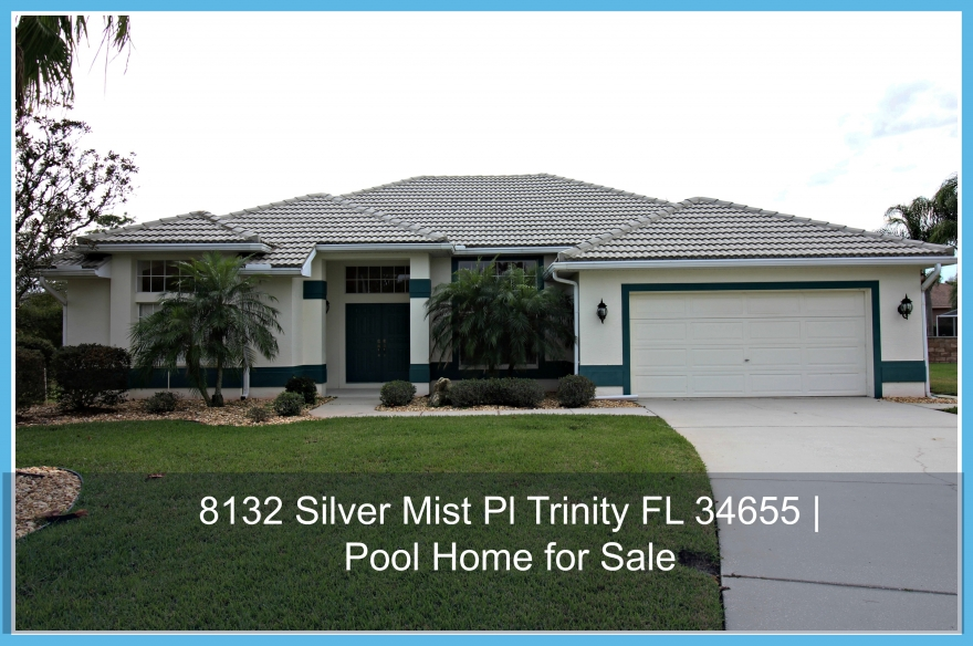 Live in this beautiful contemporary home for sale in Trinity FL.
