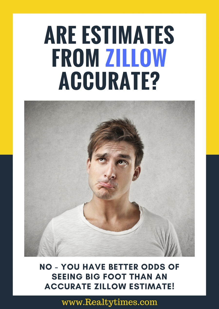 Are estimates from Zillow accurate?