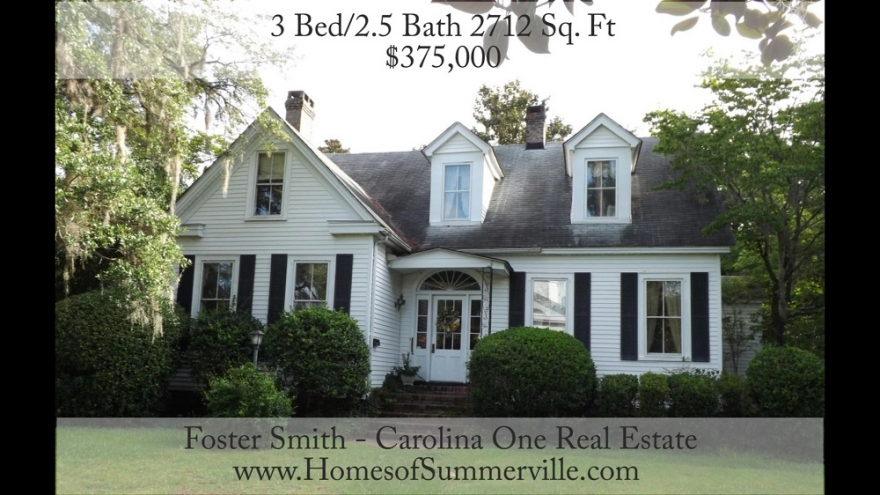 Historic Home for Sale in Summerville, SC