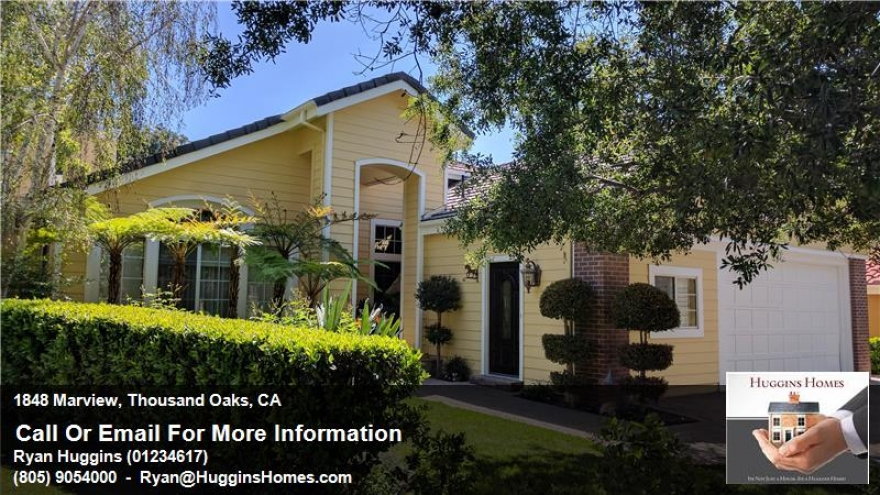 1848 Marview Drive - Gorgeous 5+3 with separate office/guest unit in Thousand Oaks