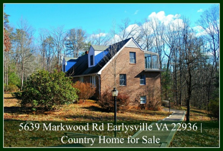 5639 Markwood Rd Earlysville VA 22936 | Home for Sale