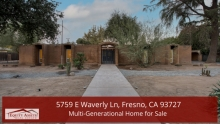 5759 E Waverly Ln, Fresno, CA 93727 | Multi-Generational Home for Sale