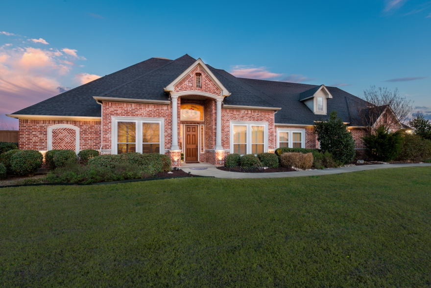 Rockwall Custom Home with Pool in Gated Community