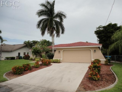Cape Coral waterfront home for sale