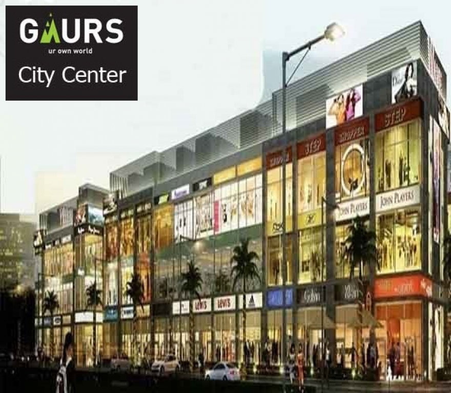 Gaur City Center – Gaur Sadar Bazaar leading Business Plaza