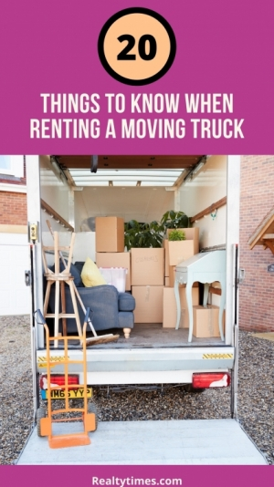 20 Things to Know When Renting a Moving Truck - Realty Times