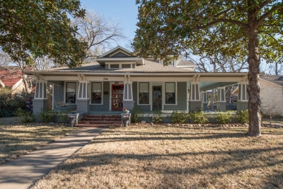 Top-Producing Ellis County Real Estate Team Lists Historic Waxahachie Home