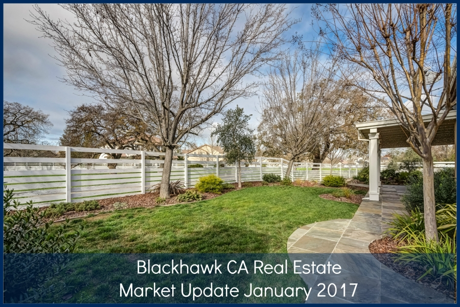 Blackhawk CA Real Estate Market Update Video Jan 23, 2017