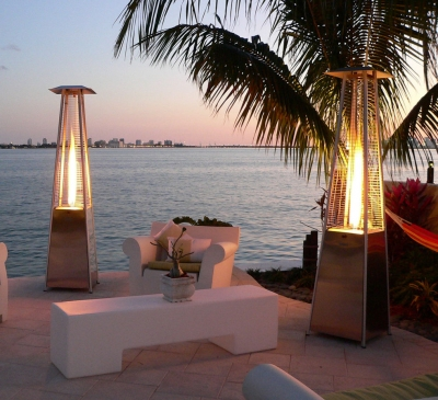 Patio outdoor heaters can prove to be safe as well as durable