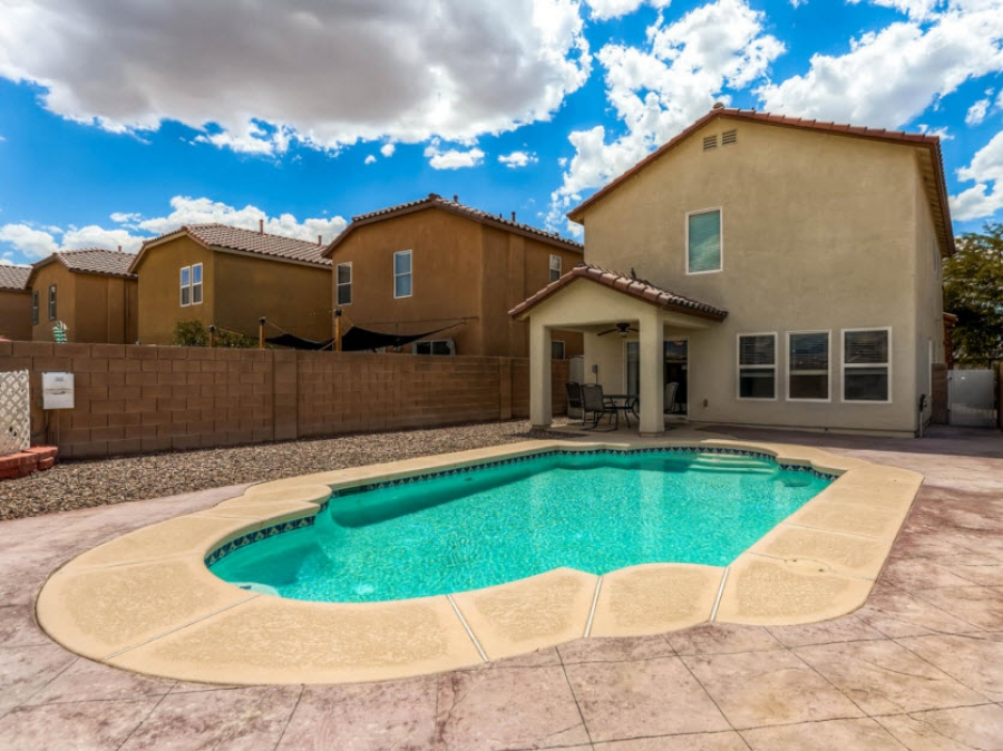 North Las Vegas Homes for sale with swimming pools-3304 Brayton Mist Dr 89081