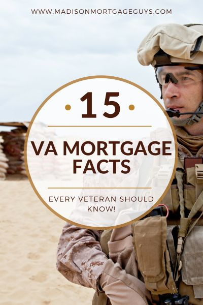 15 va mortgage facts