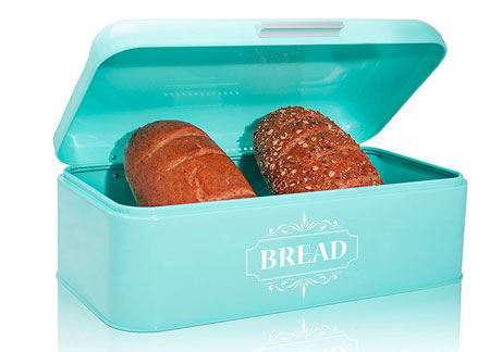 All Green Products Vintage Bread Box For Kitchen