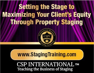 CSP International teaching the business of staging