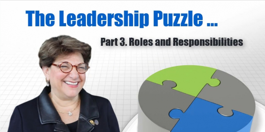 Roles and Responsibilities of Association Leadership [VIDEO]
