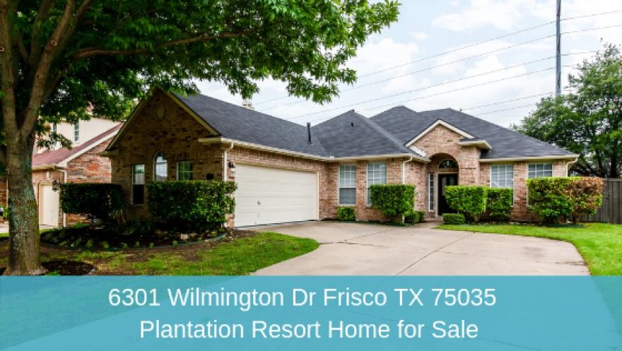 6301 Wilmington Dr Frisco TX 75035 | Home for Sale