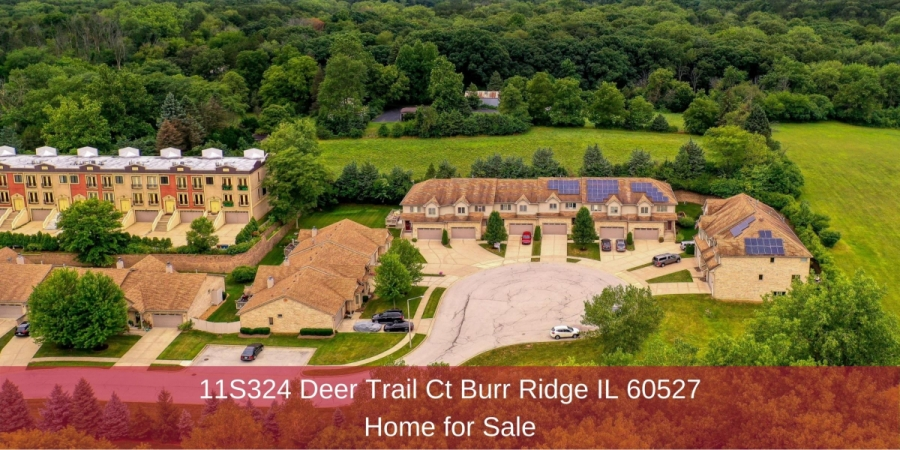 Burr Ridge IL home for sale- This Burr Ridge IL home for sale is designed for comfortable living and entertaining.