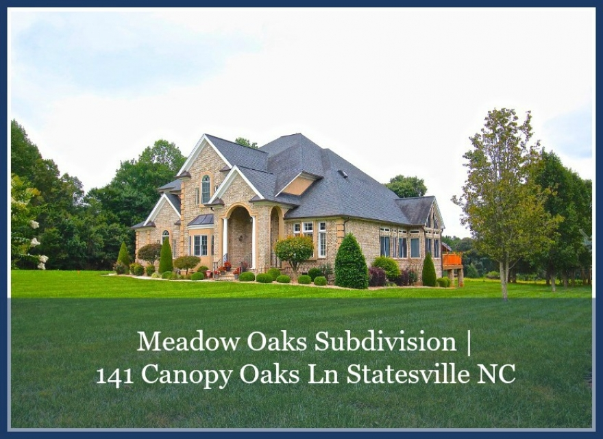 Homes in Statesville NC - Scenic country views, loads of entertainment space, the best of comfort and convenience - all these are yours in this Statesville home for sale.