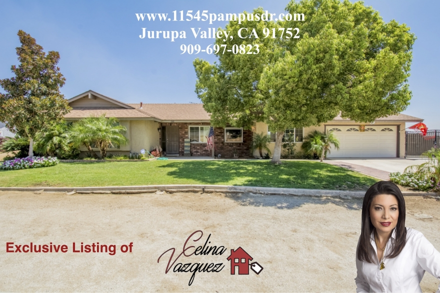 Open House! Sunday, September 10th 11545 Pampus Dr Jurupa Valley CA 91752 by Celina Vazquez