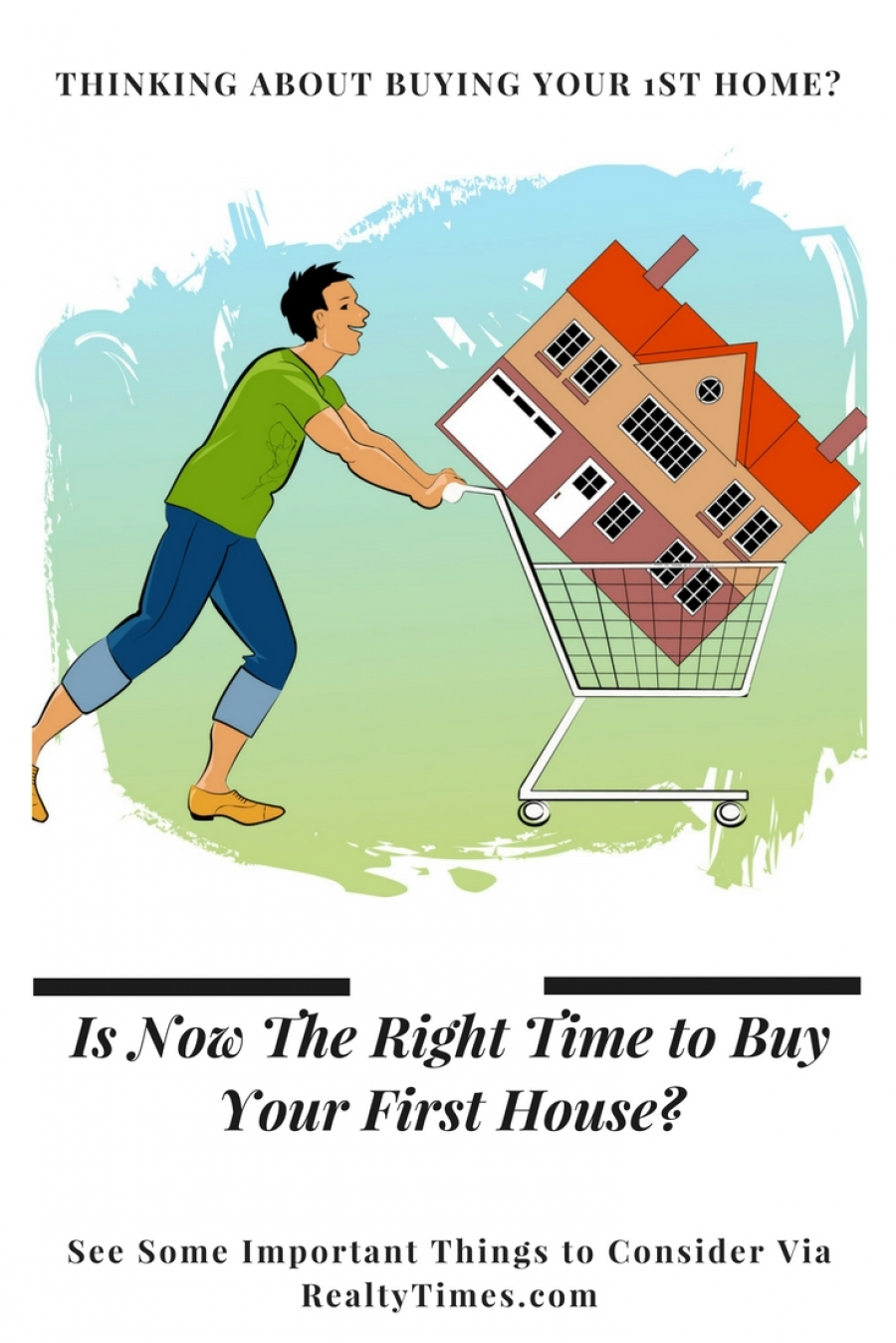 Is Now The Right Time to Buy Your First House