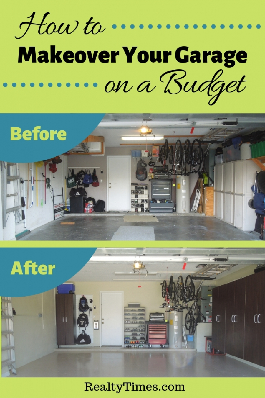 How to Makeover Your Garage on a Budget