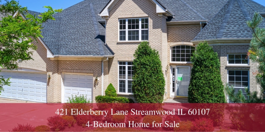 Homes for Sale in Streamwood IL - Set on a tree-lined street, this Streamwood IL home delivers privacy, retreat, and complete relaxation.