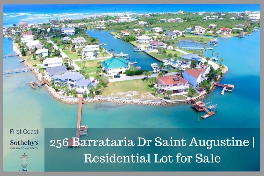 Residential Lot for sale in St. Augustine- Be the proud owner of this residential lot for sale in St. Augustine FL.