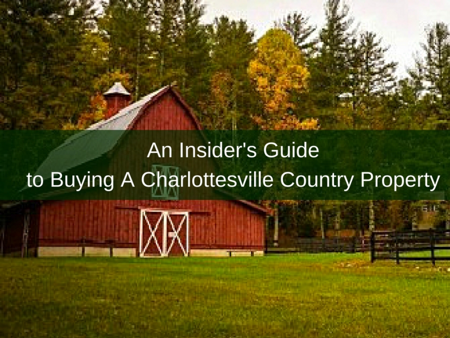 An Insider's Guide to Buying A Charlottesville Country Property