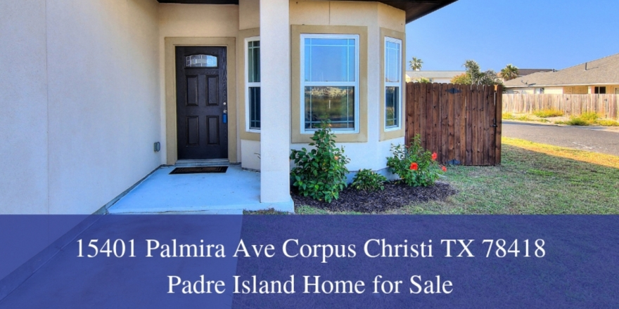 Padre Island Corpus Christi TX Homes - Fall in love with the gorgeous location of this Corpus Christi home for sale.