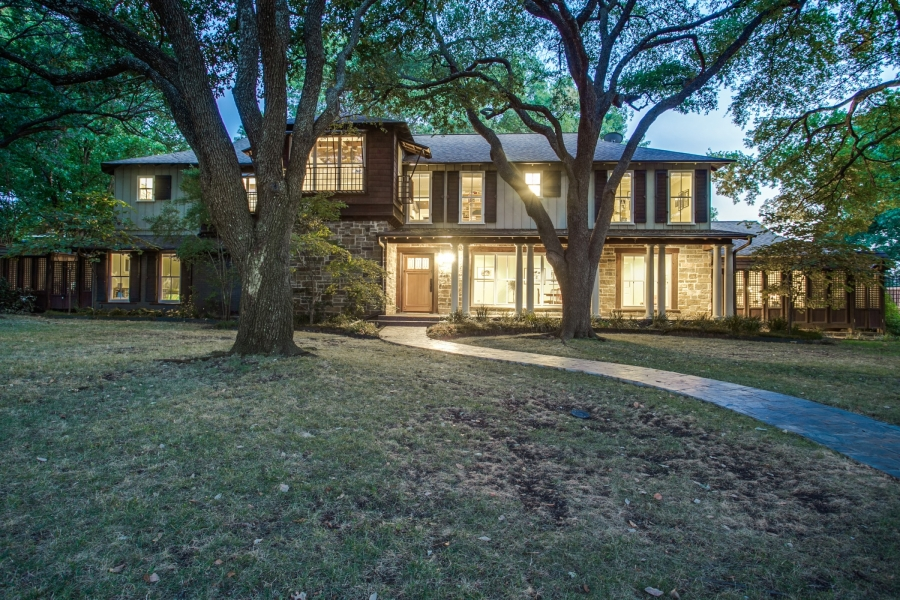 Sandra Melmed at the Dallas/Park Cities office of Coldwell Banker Residential Brokerage presents this spectacular Craftsman-style masterpiece in the sought-after Hockaday area. Offered at $1,350,000.