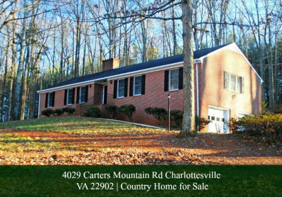 Under Contract! 4029 Carters Mountain Rd Charlottesville VA 22902 | Home for Sale