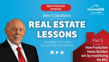 New Podcast episode released by No. 1 ranked real estate agent Ben Caballero