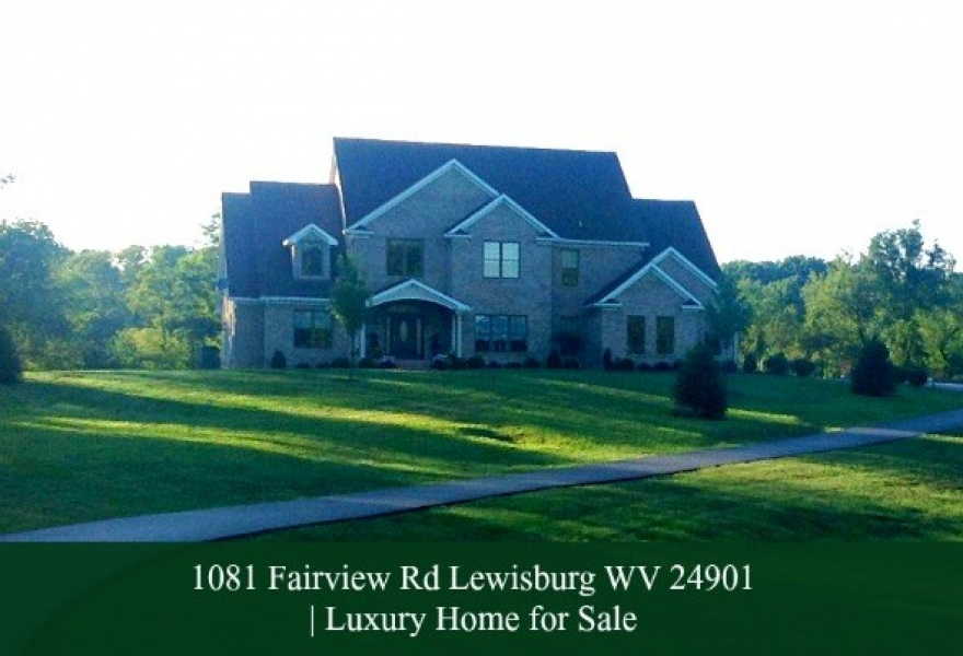 Lewisburg WV Equestrian Home for Sale