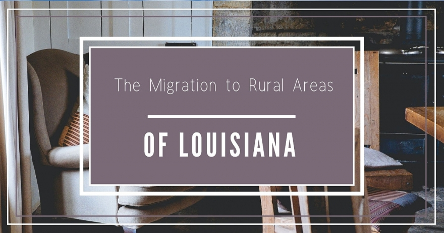 The Migration to Rural in Louisiana