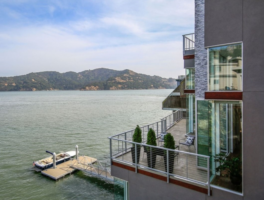 Rare, New Tiburon Waterfront Contemporary Home Enters the Market at $7.5 Million