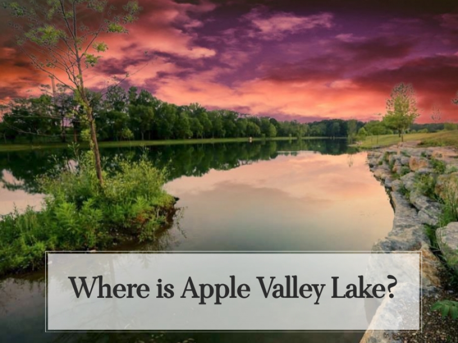 Where Is Apple Valley Lake?