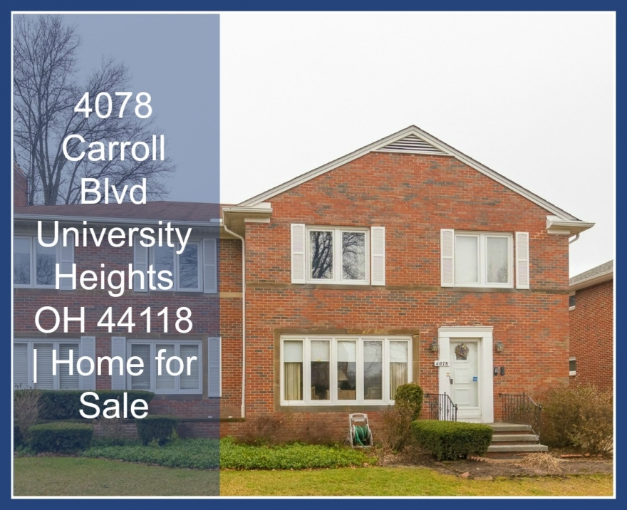 4078 Carroll Blvd University Heights OH 44118 | Multi Family Home for Sale