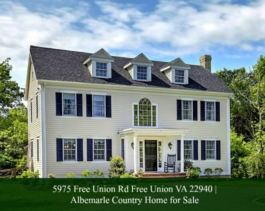 5975 Free Union Rd Free Union VA 22940 | Albemarle Country Home for Sale