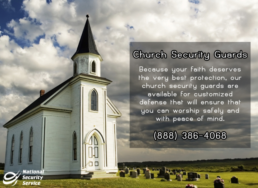 National Security Service Helps Churches Fight Back Against Violent Crimes