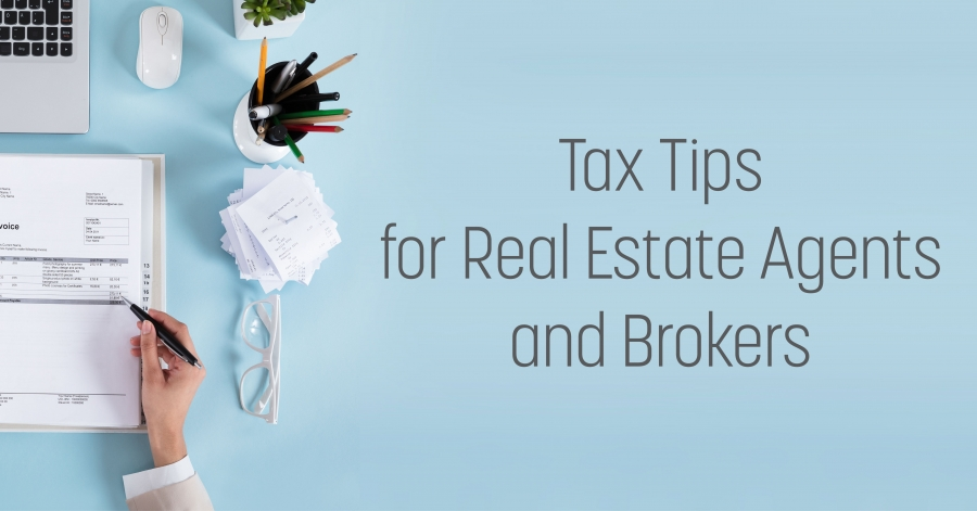 Tax Tips For Real Estate Agents and Brokers