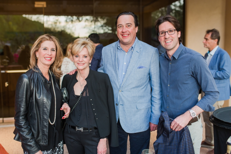 Jill Eber, Jill Hertzberg, Judy Zeder and Danny Hertzberg of Coldwell Banker's The Jills Zeder Group Attend Prestigious International Luxury Alliance Network Event