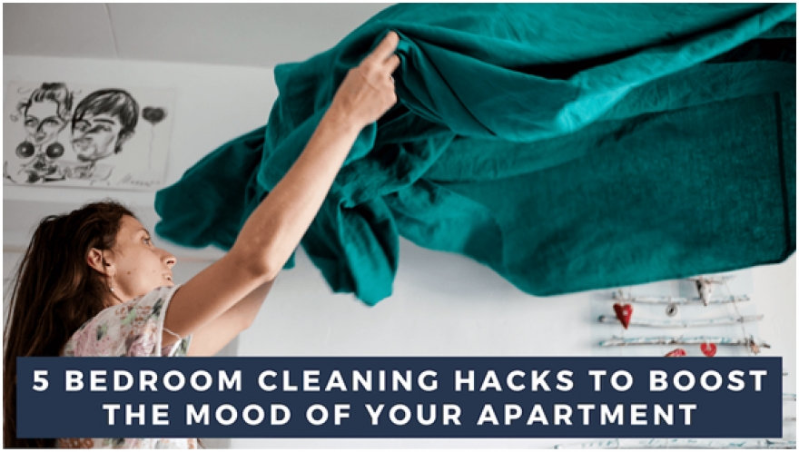 Bedroom Cleaning Hacks