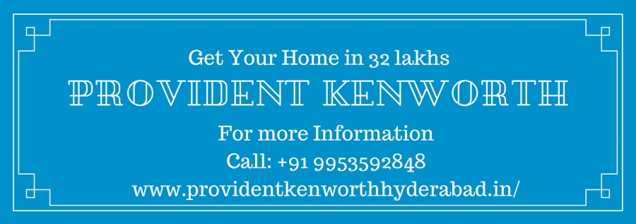 Provident Kenworth – It is a jewel of architecture in Hyderabad (Rajendra Nagar)