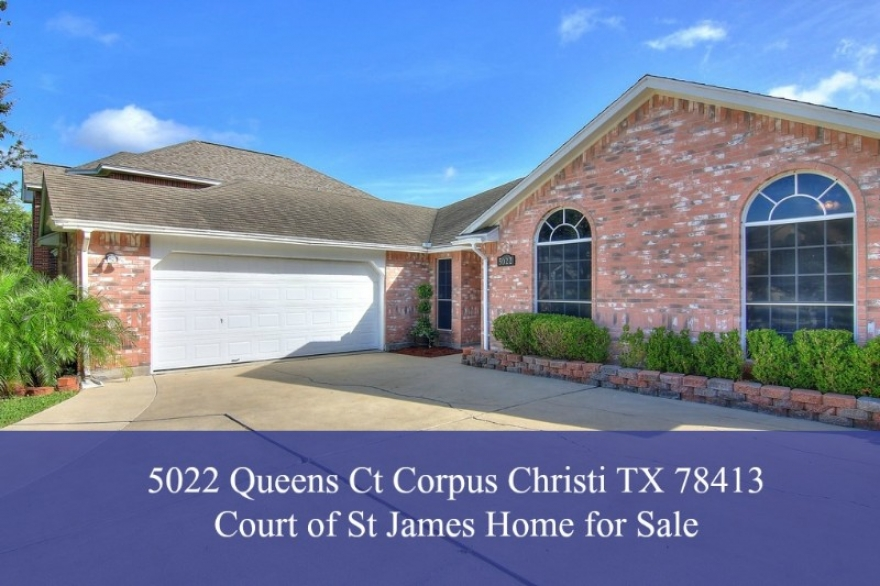 5022 Queens Ct Corpus Christi TX 78413 | Home for Sale