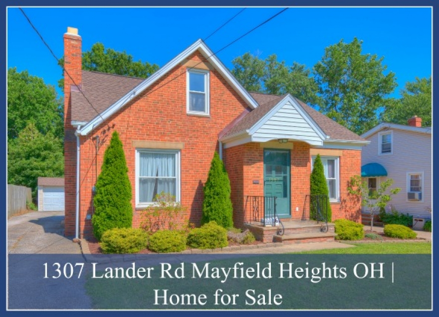 1307 Lander Rd Mayfield Heights OH | Vintage Home for Sale