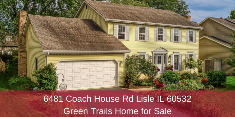 Homes for Sale in Lisle IL - Bask in privacy, retreat, and relaxation in this Lisle IL home for sale.