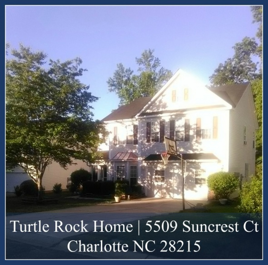 5509 Suncrest Ct Charlotte NC 28215 |Turtle Rock Home for Sale