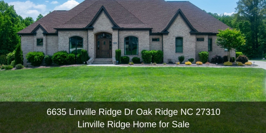 Homes for Sale in Oak Ridge NC - The best of comfort, convenience, and privacy are yours in this stunning Oak Ridge NC home for sale.